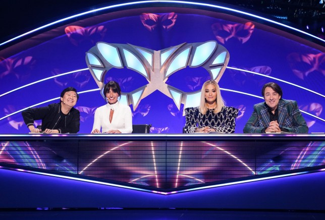 The judges in The Masked Singer