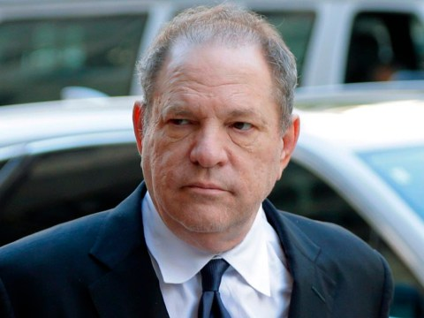 Harvey Weinstein threatened with jail after he's caught using phone during jury selection at sexual assault trial
