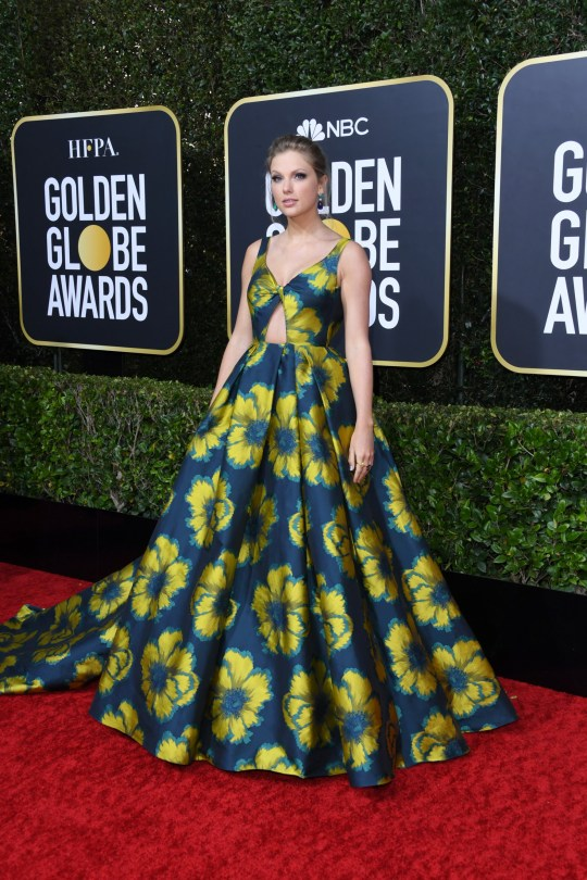 Taylor Swift attends the 77th Annual Golden Globe Awards
