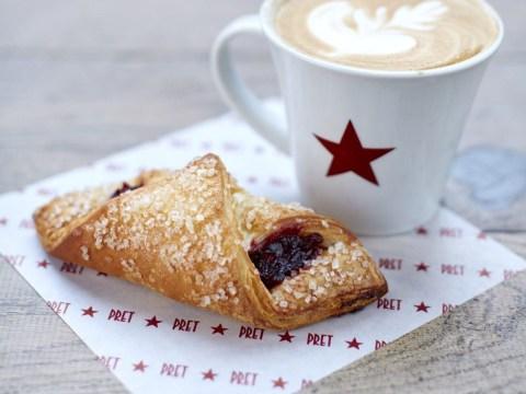 Pret is launching a fruity vegan croissant