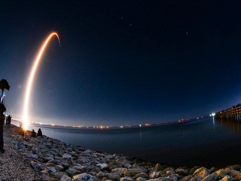 SpaceX rocket carrying astronauts to the ISS will be visible over the UK tonight