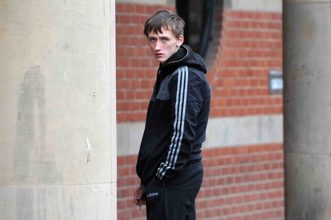 A stoned driver was told he could have killed someone as he sped around the streets of Teesside after smoking ?100 worth of pot. Josh Graham, 21, ended up in the dock at Teesside Crown Court after he drove at up to 87mph in an early-hours police chase. But the garage worker and dad-to-be avoided prison as a judge agreed he acted out of character in the hazardous 15-minute escapade. Teesside Crown court, Middlesbrough. Josh Graham, 21, from Thornaby, given a suspended prison sentence for dangerous driving, other motoring offences and cannabis possession. ID'd by Gareth Lightfoot.