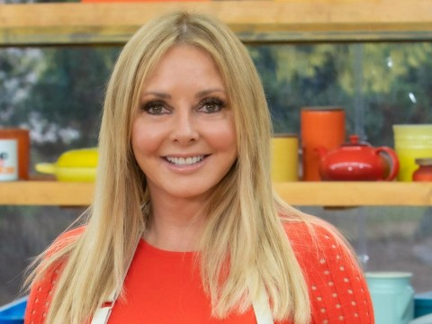 Carol Vorderman presents the weather in Welsh – after just two months of lessons