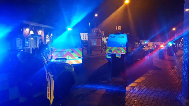Two fighting for life after double stabbing in Forest Gate Image taken without permission/editorial call
