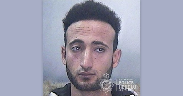 Mahmoud Alshamy admitted to using a false identity document (Picture: South Wales Police)