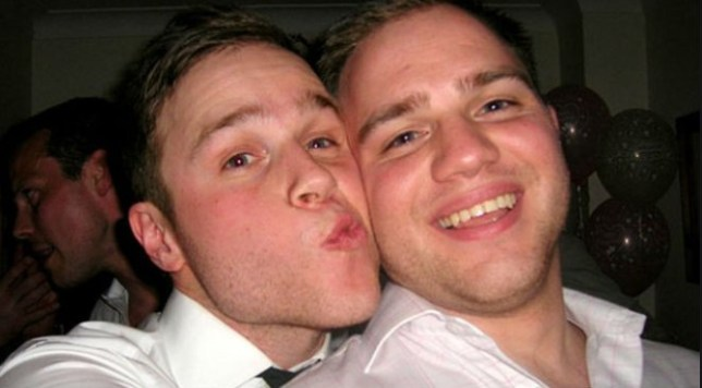 olly murs and his twin brother ben