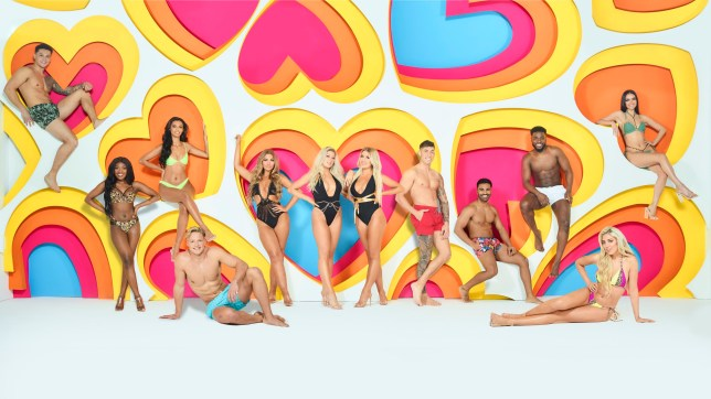 MANDATORY CREDIT: ITV Undated handout photo issued by ITV of (left to right) Callum Jones, Leanne Amaning, Sophie Piper, Ollie Williams, Shaughna Phillips, Jess Gale, Eve Gale, Connor Durman, Nas Majeed, Mike Boateng, Paige Turley and Siannise Fudge who are appearing on Love Island Winter 2020 which returns on Sunday. PA Photo. Issue date: Sunday January 12, 2020. See PA story SHOWBIZ LoveIsland. Photo credit should read: Joel Anderson/ITV/PA Wire NOTE TO EDITORS: This handout photo may only be used in for editorial reporting purposes for the contemporaneous illustration of events, things or the people in the image or facts mentioned in the caption. Reuse of the picture may require further permission from the copyright holder.