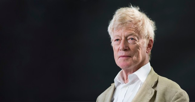 EDINBURGH, SCOTLAND - AUGUST 15: Roger Scruton attends the Edinburgh International Book Festival on August 15, 2016 in Edinburgh, Scotland. The Edinburgh International Book Festival is one of the most important annual literary events, and takes place in the city which became a UNESCO City of Literature in 2004. (Photo by Awakening/Getty Images)