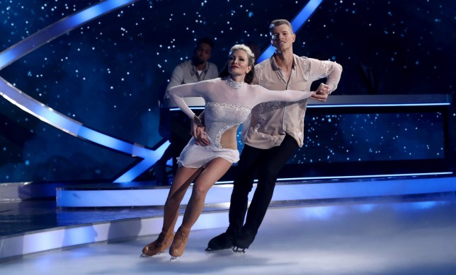 Editorial use only Mandatory Credit: Photo by REX (10522677dj) Caprice Bourret and Hamish Gaman 'Dancing On Ice' TV show, Series 12, Episode 2, Hertfordshire, UK - 12 Jan 2020