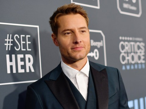 This Is Us star Justin Hartley reveals he 'tore his bicep off' while working out during lockdown