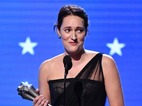 Phoebe Waller-Bridge's X-rated acceptance speech has us howling as she's bleeped at Critics' Choice Awards