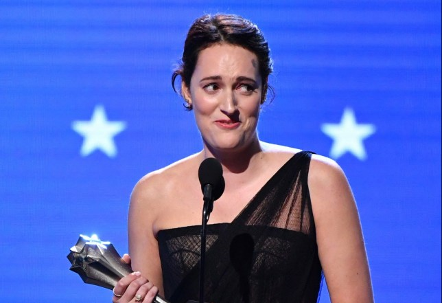 SANTA MONICA, CALIFORNIA - JANUARY 12: Phoebe Waller-Bridge accepts the Best Actress in a Comedy Series award for 'Fleabag' speaks onstage during the 25th Annual Critics' Choice Awards at Barker Hangar on January 12, 2020 in Santa Monica, California. (Photo by Amy Sussman/Getty Images)
