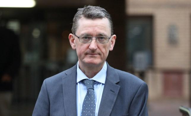 James Farrar, Chair of the United Private Hire Drivers' branch of the IWGB union, outside Southwark Crown Court, London, where he on trial accused of assaulting two police officers by using the sound from his megaphone to cause injury, pain and discomfort. PA Photo. Picture date: Monday January 13, 2020. The alleged assaults occurred on March 4, 2019 in Parliament Square where the union was staging a demonstration against Transport for London and the Mayor of London over their decision to strip minicab drivers of exemption from the congestion charge. See PA story COURTS Megaphone. Photo credit should read: Jonathan Brady/PA Wire