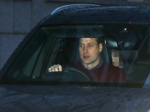 Prince William leaves Kensington Palace morning after historic Sandringham summit