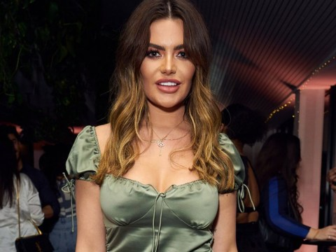 Love Island's Megan Barton Hanson lets hair down at Rihanna's Fenty party after reuniting with girlfriend