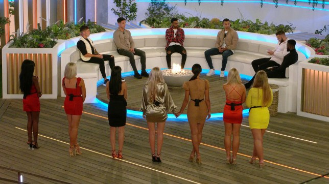 The love island 2020 contestants during the last recoupling