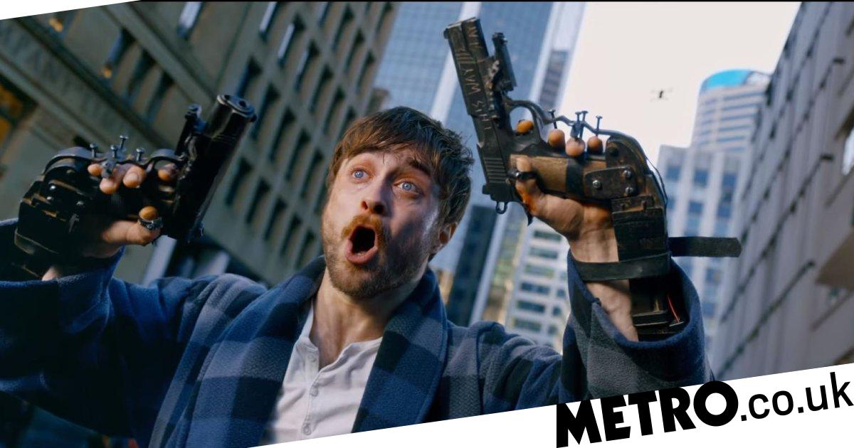 Daniel Radcliffe defends violence in film where guns are bolted to his hands