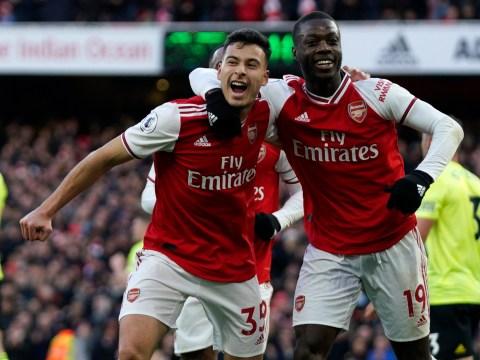 Pierre-Emerick Aubameyang explains why Gabriel Martinelli will become an Arsenal superstar