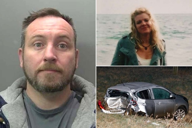 (Picture: Cambridgeshire Police) A drink driver killed a mother-of-two and left three others seriously injured after overtaking a lorry and then crashing into slowing traffic ahead. Adam White, 38, of Acacia Avenue, Spalding, was driving his Vauxhall Vivaro van on the A16 towards Crowland just after 5pm on 23 January last year. He was travelling on the single-carriageway road when he overtook a lorry at 73mph and drove into the path of an oncoming car, forcing the driver to take evasive action and career onto the grass verge. White then continued to drive dangerously but failed to notice the slowing traffic in front and, just 18 seconds later, crashed into the back of a Vauxhall Viva causing the car to leave the carriageway. The crash resulted in his van careering into the other lane and into the path of a grey Peugeot 3008 which also left the carriageway and overturned. The driver of the Peugeot 3008 - Katy Cunningham, 46, of Temple Grange, Peterborough ? died at the scene. She had her two children, aged 8 and 11 at the time, in the car with her who both suffered life-changing injuries.