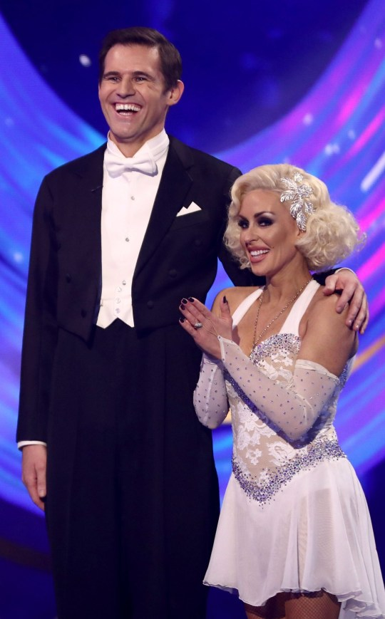 Dancing On Ice's Kevin Kilbane and Brianne Delcourt