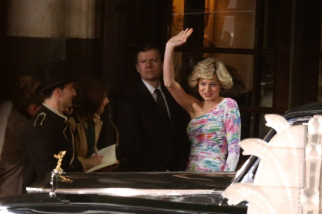 The Crown's Emma Corrin transforms into Princess Diana for iconic scene