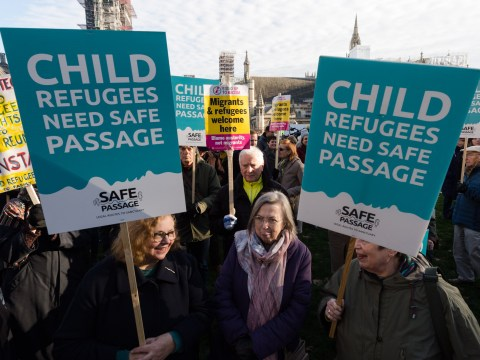 Government 'shameful' for voting down plan to reunite child refugees with family