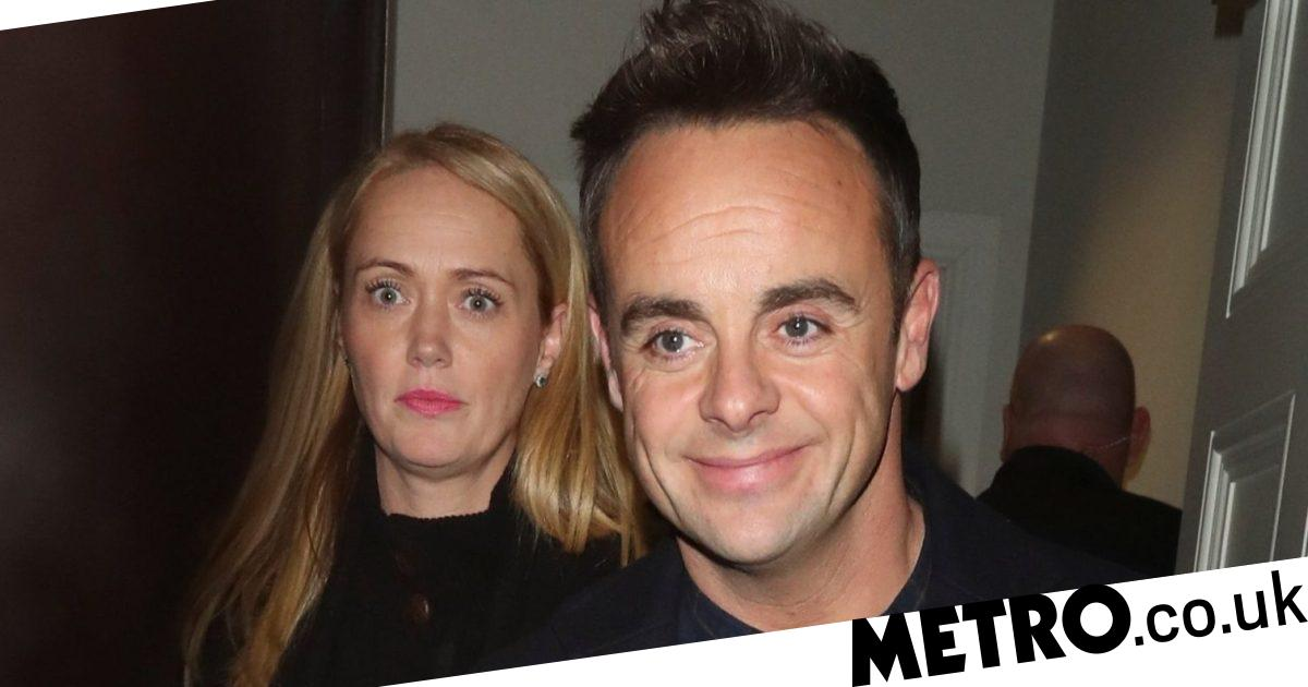 Ant McPartlin joined by girlfriend Anne-Marie as they leave BGT filming