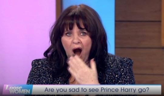 Coleen Nolan on Loose Women 21.01.20 (Picture: ITV)
