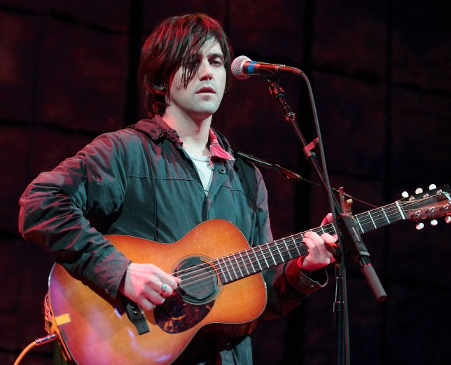 Mandatory Credit: Photo by Owen Sweeney/REX (1326151a) Bright Eyes - Conor Oberst Non-COMM Convention, Queen Theater, Wilmington, Delaware, America - 20 May 2011