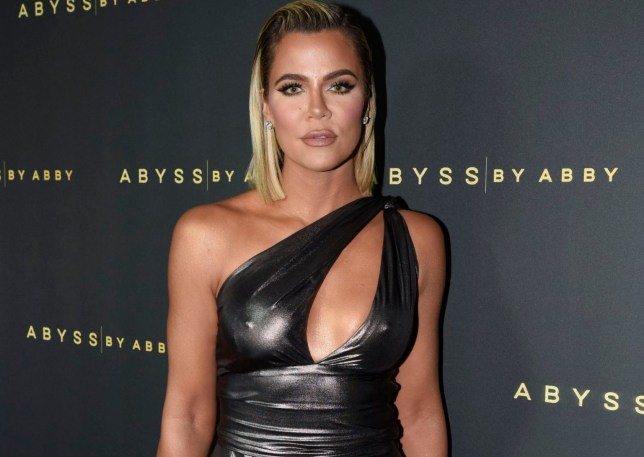 Khloe Kardashian slays in silver at Abyss By Abby launch party