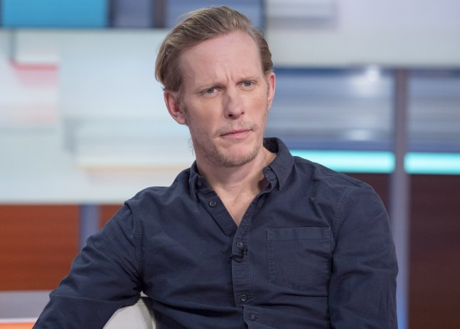 Editorial use only Mandatory Credit: Photo by Ken McKay/ITV/REX (10533327i) Laurence Fox 'Good Morning Britain' TV show, London, UK - 22 Jan 2020
