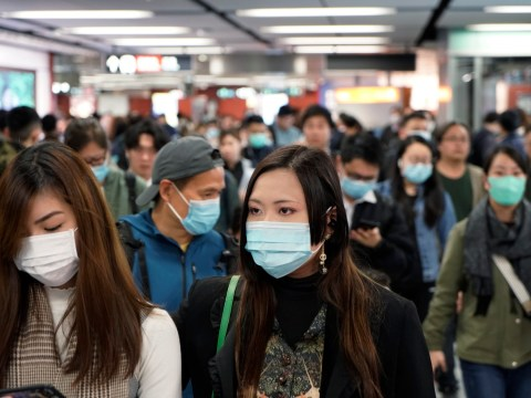 Panic buying hits Britain as shops sell out of face masks and hand wash