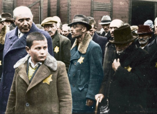 Auschwitz Untold: In Colour shows survivors reveal hell of camp in groundbreaking documentary