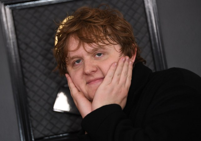 Scottish singer-songwriter Lewis Capaldi arrives for the 62nd Annual Grammy Awards on January 26, 2020, in Los Angeles. (Photo by VALERIE MACON / AFP) (Photo by VALERIE MACON/AFP via Getty Images)