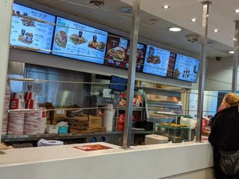 Britain has got so bad KFC staff need protection with metal bars
