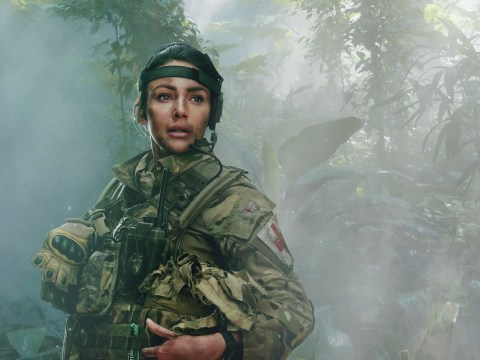 Michelle Keegan can never say never to returning to Our Girl after hanging up military boots