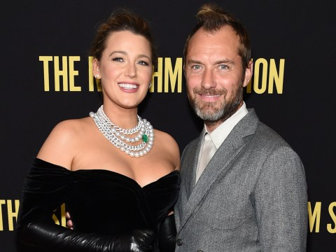 Blake Lively punched Jude Law so hard she broke her bones: 'My hand turned to confetti'