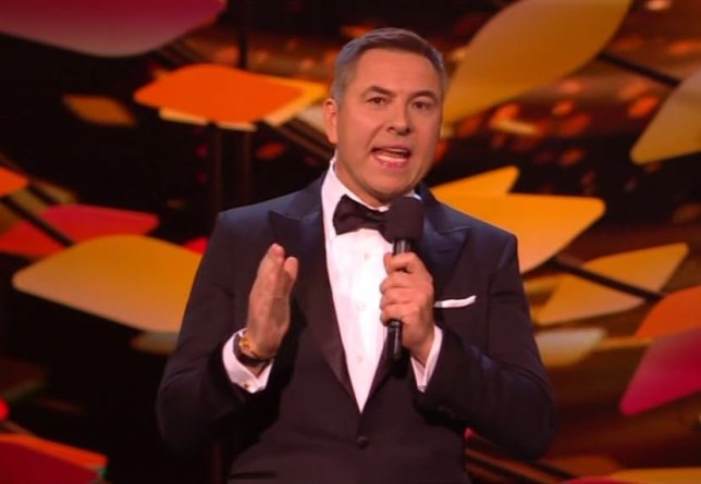 David Walliams makes Caroline Flack Joke at National Television Awards – and it doesn't go down very well