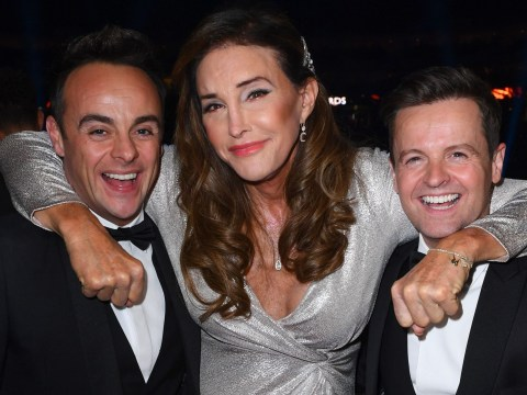 Caitlyn Jenner all smiles with Ant and Dec at NTAs after snubbing hosts during grim I'm A Celeb trial