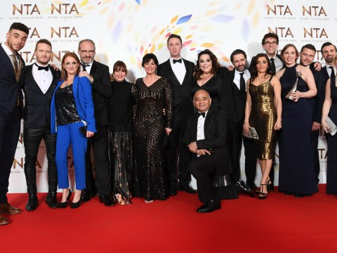 Who won Best Soap at last night's National Television Awards?
