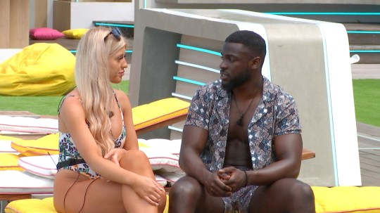 From ITV Studios Love Island: SR6: Ep19 on ITV2 Pictured: Jess and Mike. This photograph is (C) ITV Plc and can only be reproduced for editorial purposes directly in connection with the programme or event mentioned above, or ITV plc. Once made available by ITV plc Picture Desk, this photograph can be reproduced once only up until the transmission [TX] date and no reproduction fee will be charged. Any subsequent usage may incur a fee. This photograph must not be manipulated [excluding basic cropping] in a manner which alters the visual appearance of the person photographed deemed detrimental or inappropriate by ITV plc Picture Desk. This photograph must not be syndicated to any other company, publication or website, or permanently archived, without the express written permission of ITV Picture Desk. Full Terms and conditions are available on the website www.itv.com/presscentre/itvpictures/terms For further information please contact: james.hilder@itv.com / 0207 157 3052