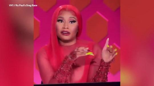 Nicki Minaj RuPaul's Drag Race