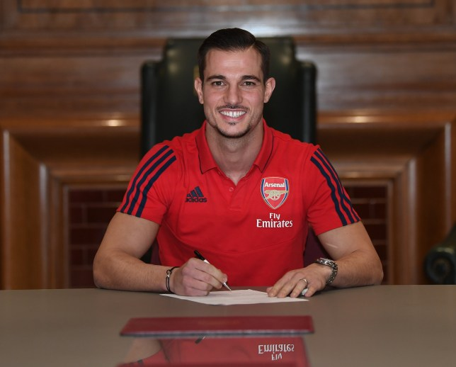 Cedric Soares has joined Arsenal, initially on loan, from Southampton
