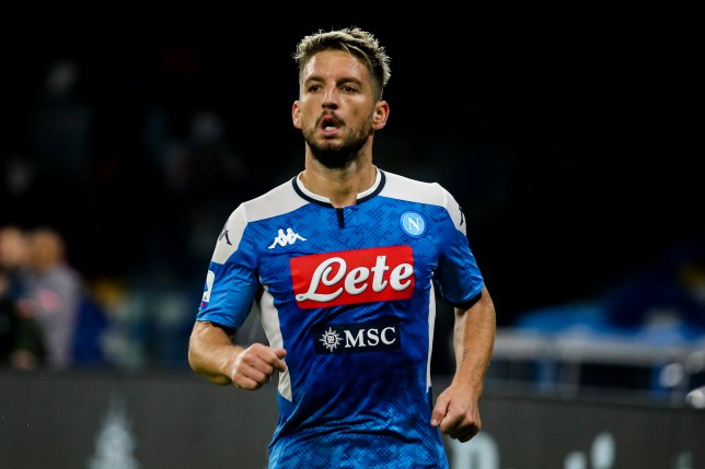 Arsenal have made a move to sign Napoli forward Dries Mertens