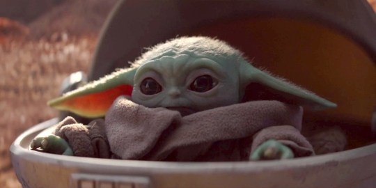 Star Wars creator George Lucas finally meets Baby Yoda and it's as beautiful as you'd hope