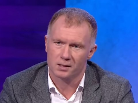 Paul Scholes names Ruud van Nistelrooy as the best Manchester United striker he played with
