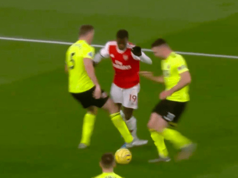 Mikel Arteta furious after VAR denies Nicolas Pepe a penalty against Sheffield United