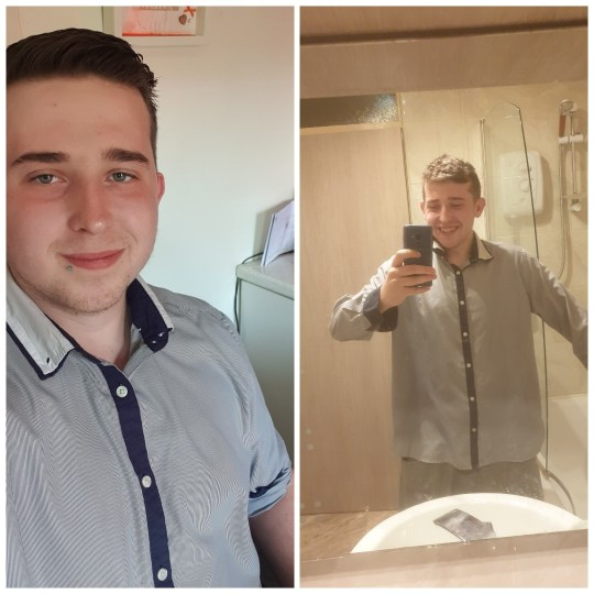 Gethin Thomas before and after
