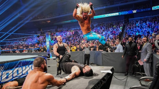 Roman Reigns gets attacked on SmackDown
