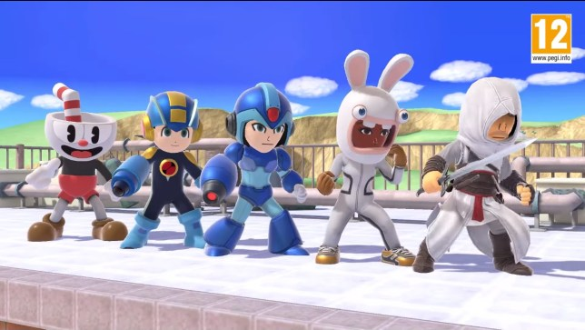 Cuphead, Assassin's Creed, and Rabbids coming to Smash Bros. Ultimate